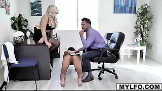 Mother I'd like to fuck boss Alexis Monroe and her employee Johnny Castle hires Adrian..