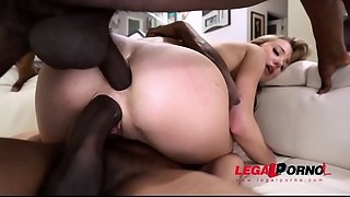 Haley Reed is Back!!! This time with 2 Huge black meat Need to WATCH! this cutie does..