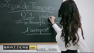 Large Wobblers at School - (Anissa Kate, Marc Rose) - Romance Language - Brazzers