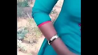 Tamil girlfriend taken for a ride in car and drilled her from behind