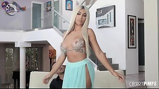Large Arse Latin chick Assh Lee Can't live without Fucking And Bouncing On The Schlong..