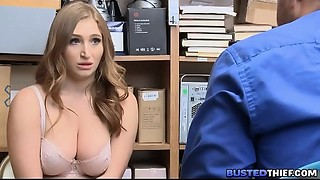 Thick Large Juggs Shoplifter Ace fuck Screwed