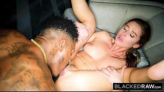 BLACKEDRAW Lustful Model Meets BBC and Receives Dominated