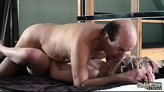 Youthful wife pleases her sugar dad with her ideal taut twat and juicy sexy throat gives..