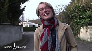 Undressed in France - Diane - Pretty bigtitted golden-haired hardly and deeply sodomized
