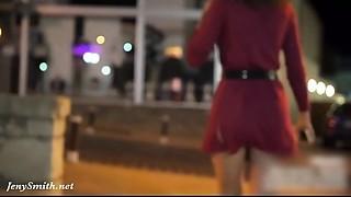 Jeny Smith public flashing compilation (January 2019)