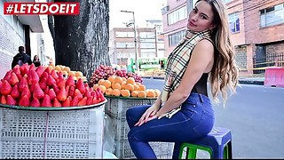 Sexy Latin babe Picked up From the Market Receives Screwed Hardcore (Anastasia Rey)
