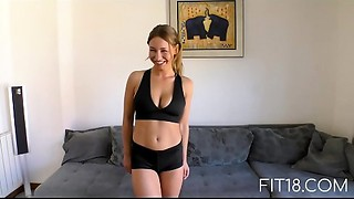 Fit18 - Bellydancing Dutch Gal Willing To Bang