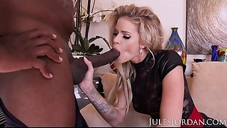 Jules Jordan - Jessa Rhodes Saved Her 1st Interracial For Mandingo And It Was Worth The..