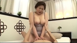 Glamorous Mother Japanese Screwed by son