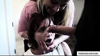Parents power daughter to engulf weenie