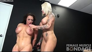 Muscle Female Lesbo Porn Stars Dani and Brandimae