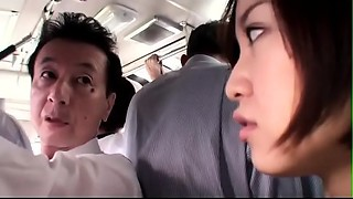 Japanese wife receives abased on the bus - full xfoxxx .com