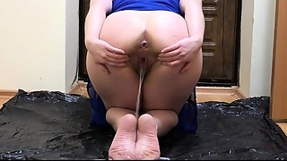The superlatively good pissing and foot fetish, the compilation of a golden shower from..