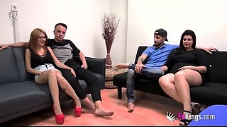 Tomy and Noa  vs Fede and Mar&iacute_a, their 1st SUPERSWINGING with lots of polemics..