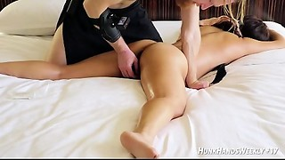 Authentic Squirting Yoni Massage (she paid ME!) Real Chinese Singaporean office girl....