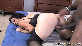 Mother I'd like to fuck Melissa Monet Copulates Rico Strong'_s BBC