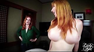 Aunt Lauren'_s Secret Visit PART 2 **FULL VID** Lauren Phillips &amp_ Lady Fyre