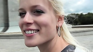 Cute czech chick with awesome gorgeous face