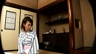 Japanese Young Wife gets an Onsen Massage