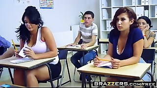 Brazzers - Big Bra buddies at School - Big Bra buddies In History Part 3 scene starring..