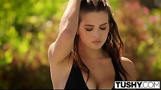 TUSHY Keisha Grey anal-copulation stretching and gapes
