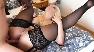 Golden-haired amateur vid shows me enjoy hot ace fuck group-sex