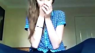British non-professional teenie webcam model